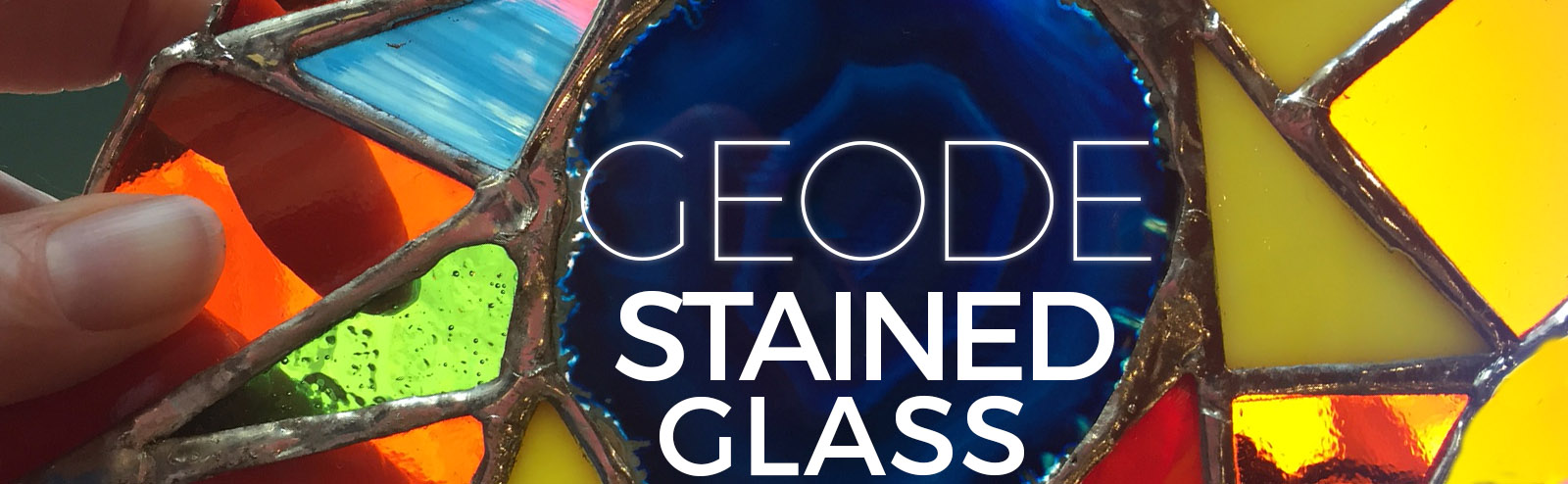 October 27 - Geode Stained Glass